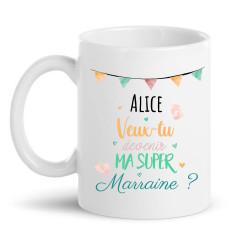 Mug à personnaliser - Marraine
