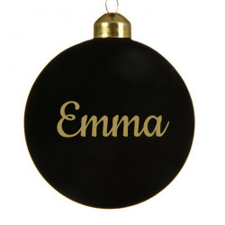 Boule de Noël prénom avec...