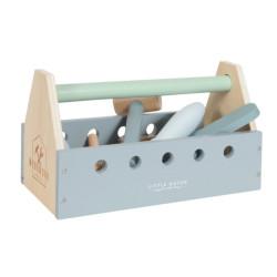 Boîte à outils en bois...