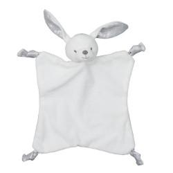 Doudou enfant lapin blanc...