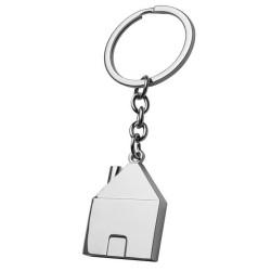 Porte-clés maison en métal