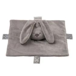 Doudou enfant Lapidou gris