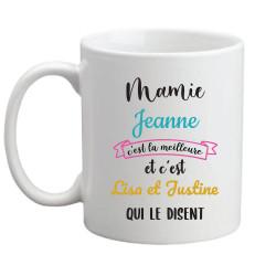 Mug à personnaliser - Mamie...