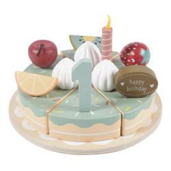 Gâteau d'anniversaire en...