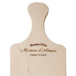 Planche apéro en bois -...