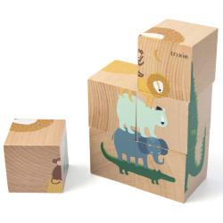 Cube puzzle - Animaux