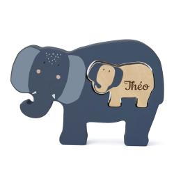 Puzzle en bois - Éléphant