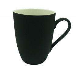 Mug céramique coloré noir