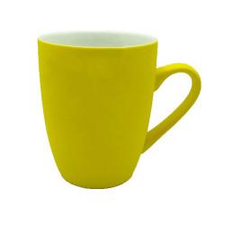 Mug céramique coloré jaune