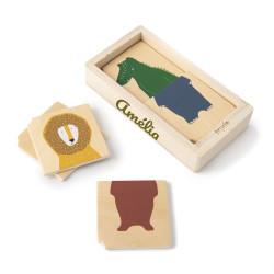 Puzzle en bois - Combo Animaux