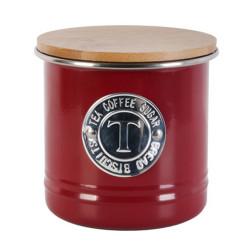 Boîte à thé/café ronde