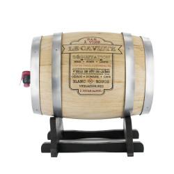 Tonneau à vin bois 5L
