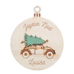 Boule de Noël - Voiture &...
