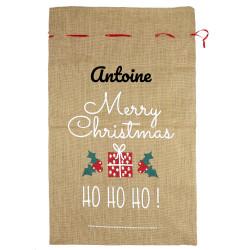 Hotte de Noël - Merry...