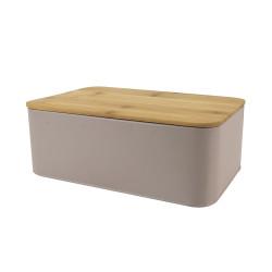 Boîte à pain métallique