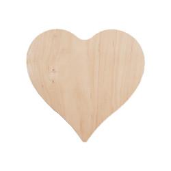 Planche apéro en bois cœur