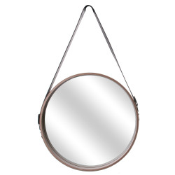 Miroir rond 40cm avec anse