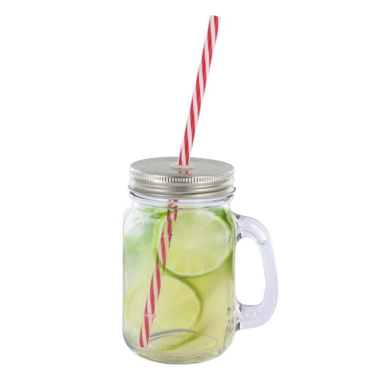 Mug à cocktail en verre