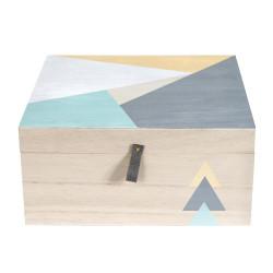 Grande boîte géométrique