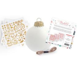 Boule de Noël stickers à...