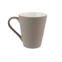 Mug céramique taupe