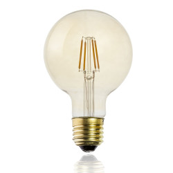 Ampoule ronde filaments...