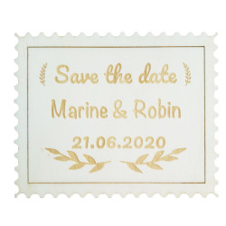 Magnet Save the date timbre