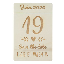 Magnet Save the date journée