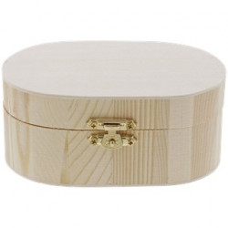 Boîte décorative en bois
