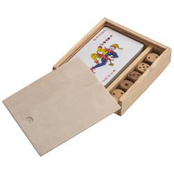 Set de jeux en bois