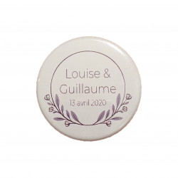 Grand badge feuilles