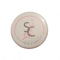 Magnet décapsuleur initiales