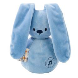 Doudou musical Lapidou bleu