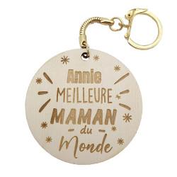 Porte-clés Meilleure maman...