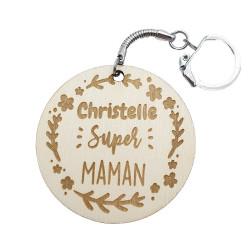 Porte-clés Super maman