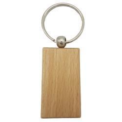 Porte-clés rectangulaire en...