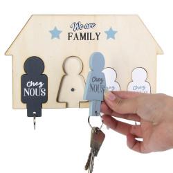 Support à porte-clés aimantés