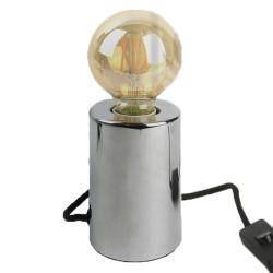 Lampe à poser cylindrique...