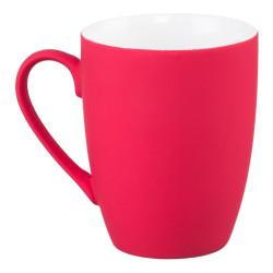 Mug céramique coloré rouge