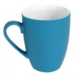 Mug céramique coloré bleu