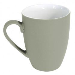 Mug céramique coloré gris