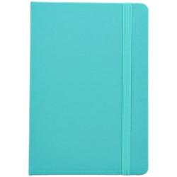 Cahier A5 simili cuir bleu...