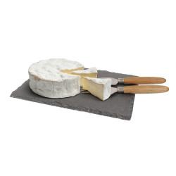 Ardoise et couteaux à fromage