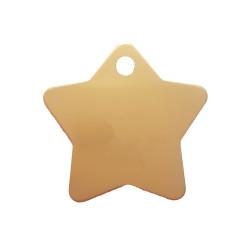Médaille animaux étoile Dorée