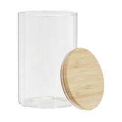 Bocal en verre et bambou 1L