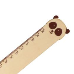 Règle graduée en bois panda