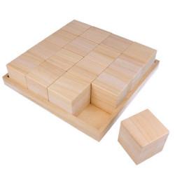 Plateau puzzle de 16 cubes